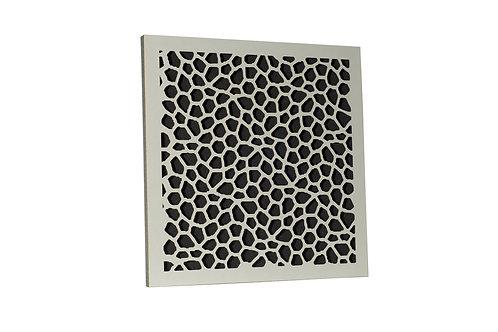 Акустическая панель Ecosound EcoNet white 50х50 см 53мм цвет белый
