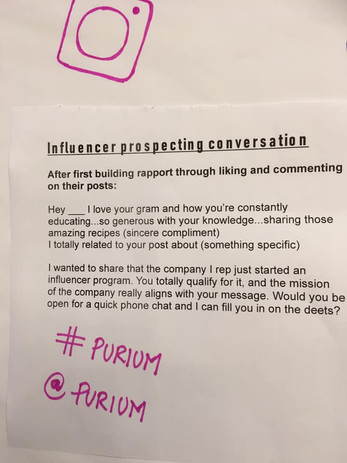 Convention 2019 -- Influencer Prospecting Conversation