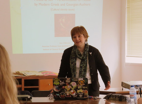 Georgian history, culture and literature – Interview with Professor Ana Chikovani