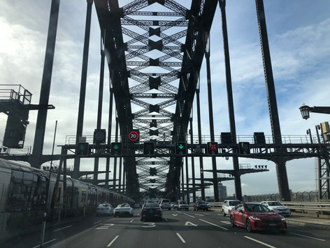 Sydney Harbour Bridge - Optus