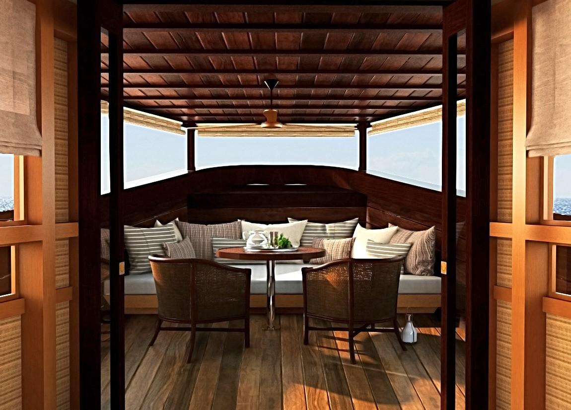 50m Phinisi yacht design