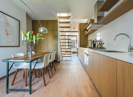 A Stylishly Re-envisioned 480-Square-Foot Amsterdam Apartment