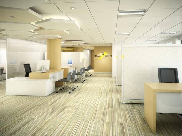 RBA Ticket Office Interior