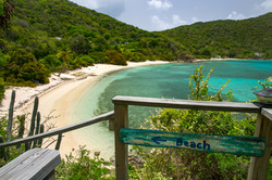 East of Eden St. John beach walkway