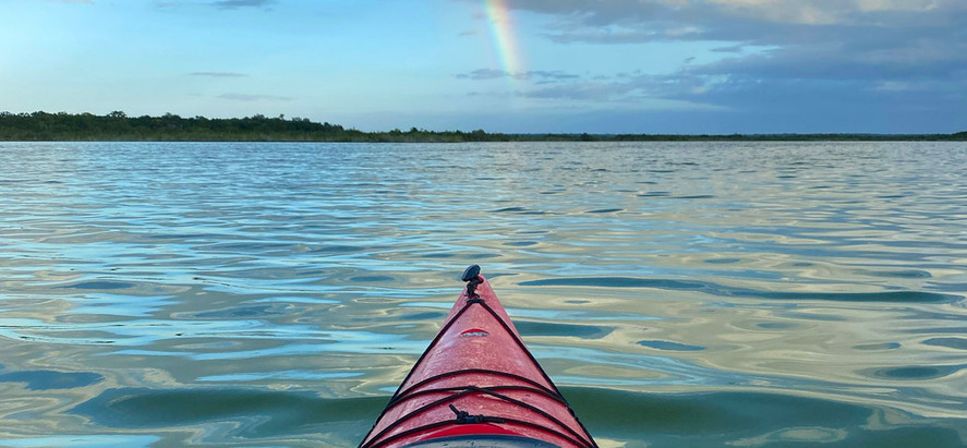 A Kayak, A Birthday and Women Friends