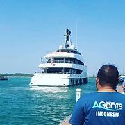 superyacht agent indonesia shore service