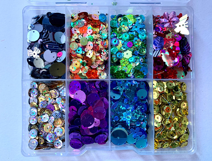 Box of sequins