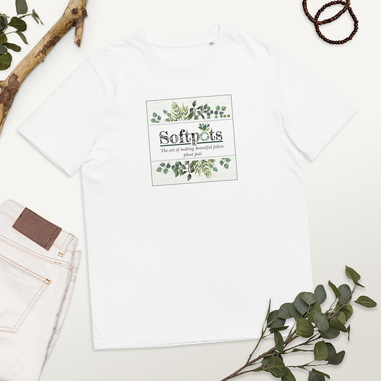 Unisex organic cotton Softpot t-shirt
