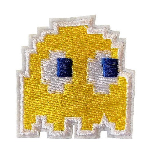 space invader yellow