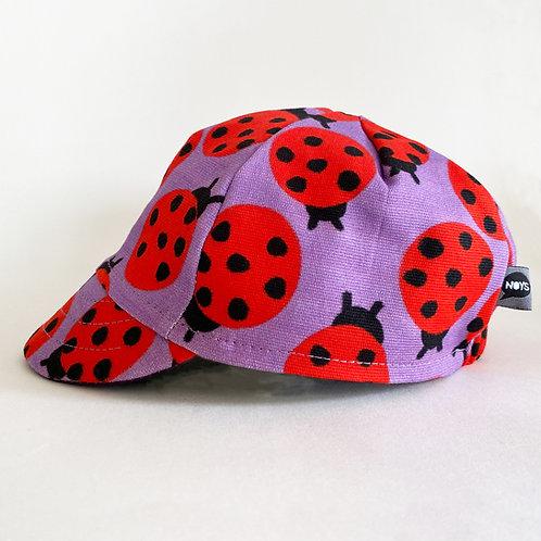RIDER CAP LADYBIRD