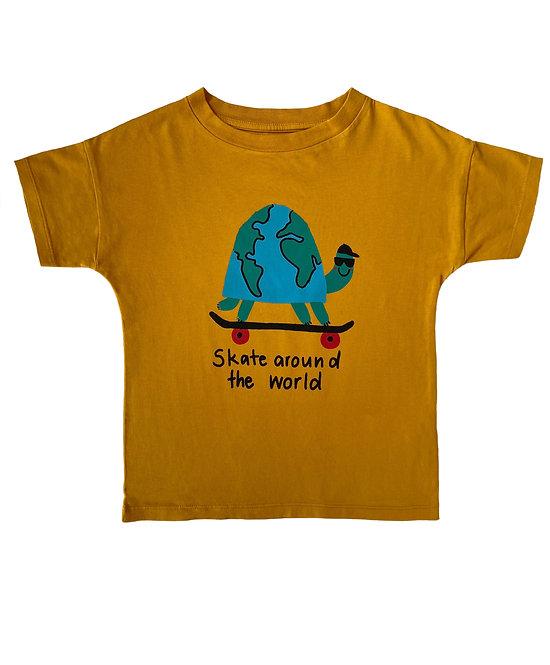 T-Shirt Momo skate around the world