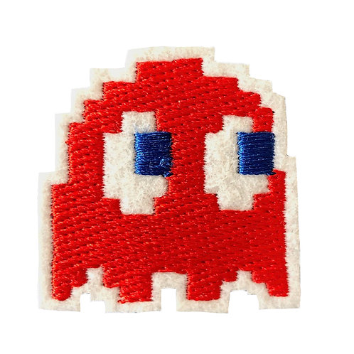 space invader red