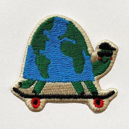 Badge Skate around the world