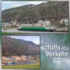 Schiffsverkehr im Bereich der oberen Elbe