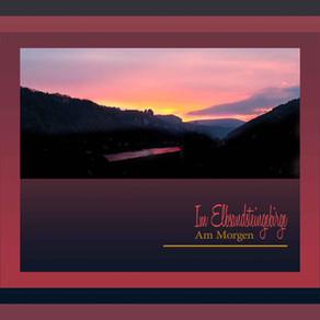 Am Morgen im Elbsandsteingebirge