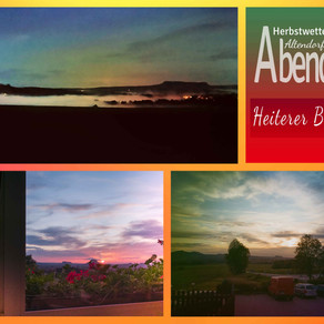 Abends am Heiteren Blick in Altendorf