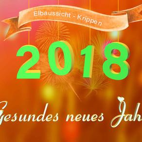 Neujahrswünsche für 2018