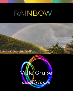 Regenbogengrüße