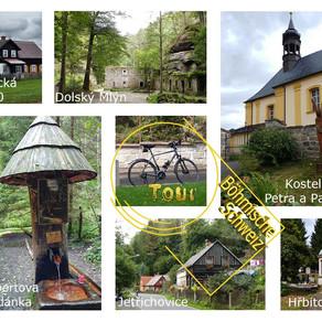 Kleine Fahrradtour in die Böhmische Schweiz