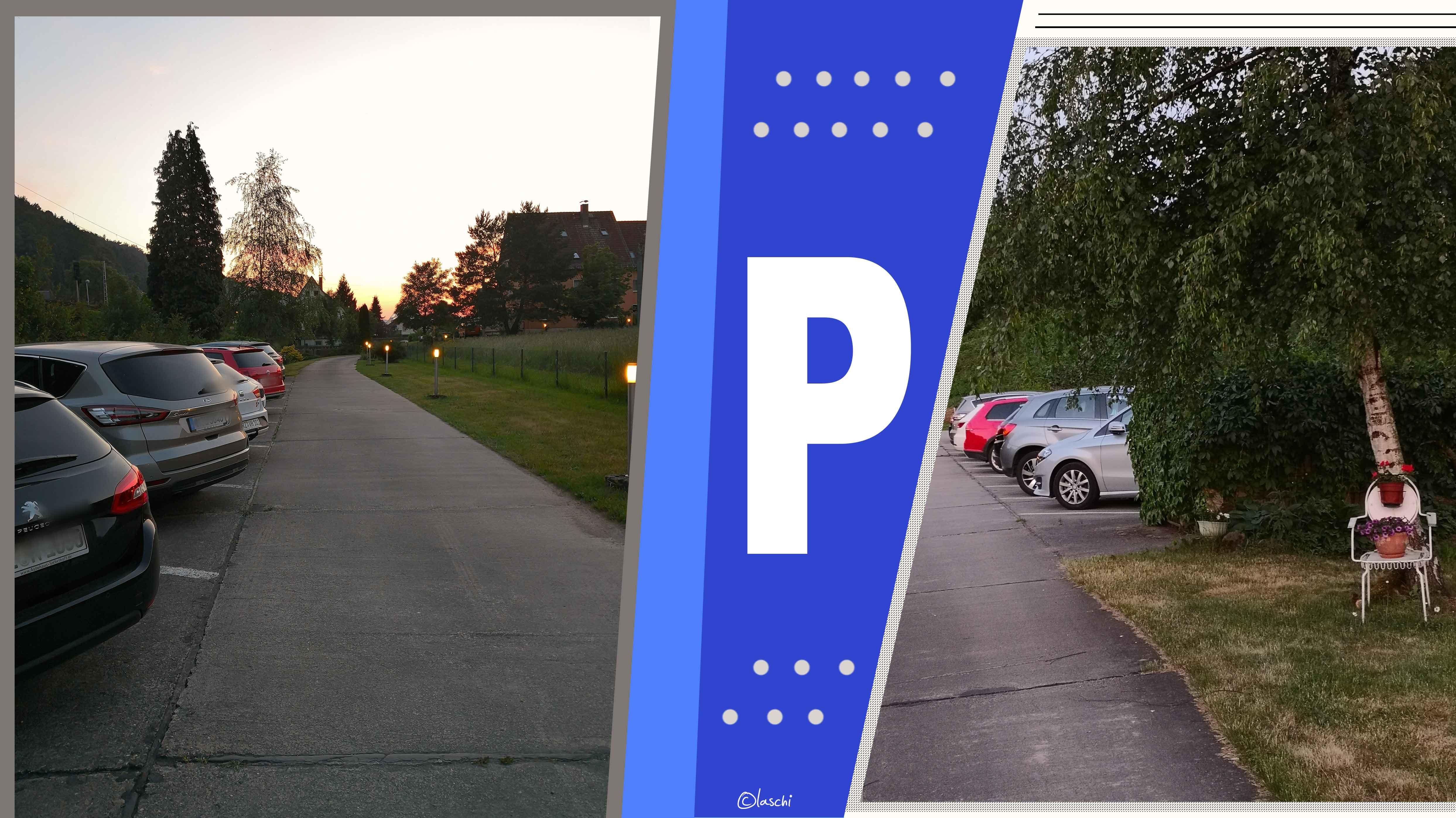 Parkplätze an der Elbaussicht
