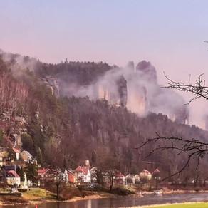 Bad Schandau - Postelwitz im Februar 2020