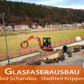 Glasfaserausbau in Bad Schandau