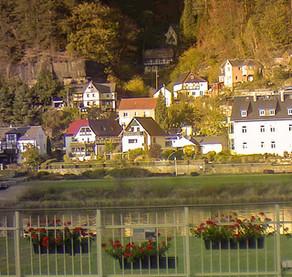 Webcam der Elbaussicht - Krippen