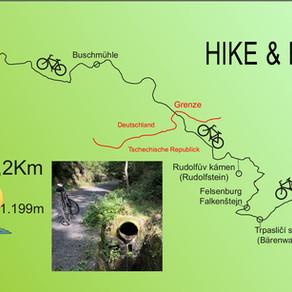 Hike & Bike in der Böhmisch-Sächsischen Schweiz