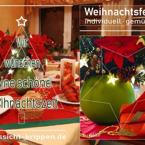 Weihnachtsfeier • individuell • gemütlich