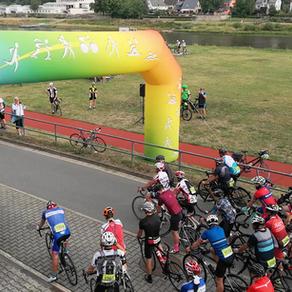 Start zur Großen Sparkassen Panorama-Radtour (101 Km)