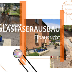 Das Projekt Glasfaserausbau in der Elbaussicht – Krippen