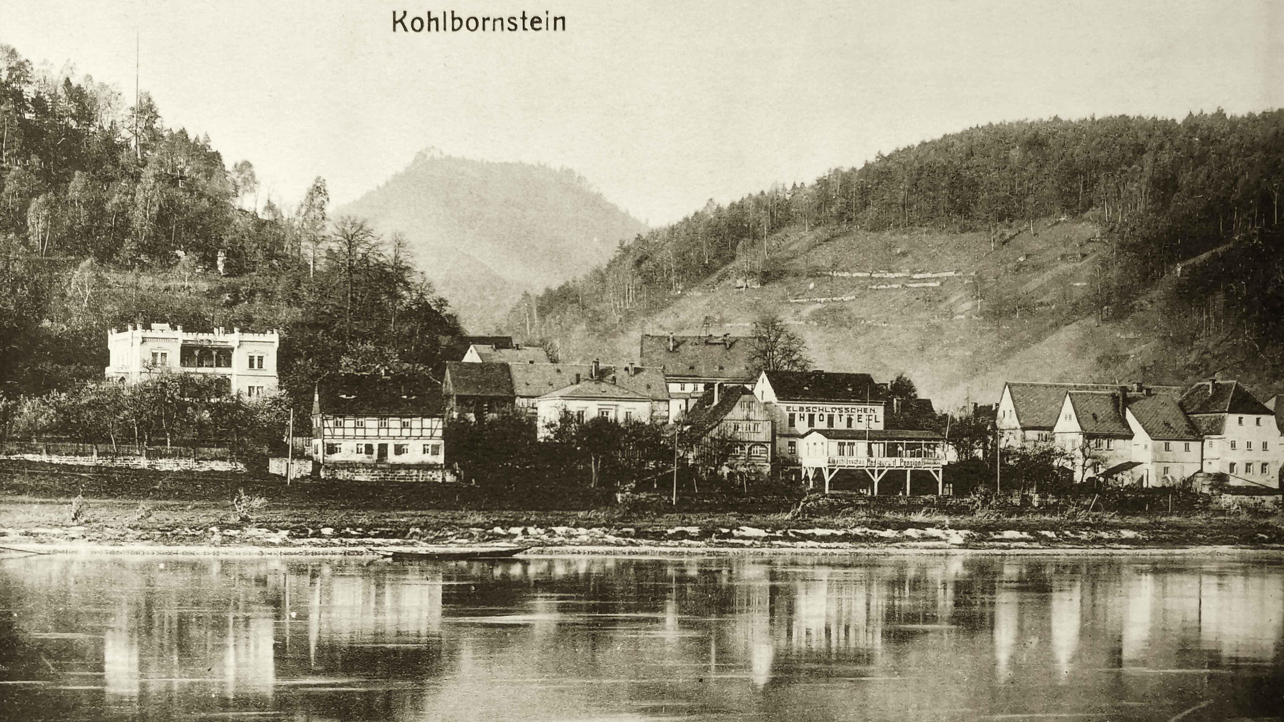 Historische Aufnahme von Krippen
