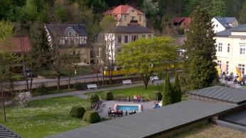 Kirnitzschtalbahn in der Sächsischen SchweizBad Schandau