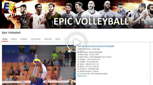 Epic Volleyball YouTube