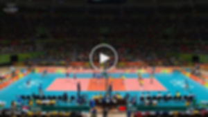 2016 Rio Olympics Women's Volleyball Gold Medal Match China v Serbia