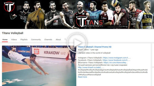 Titans Volleyball YouTube