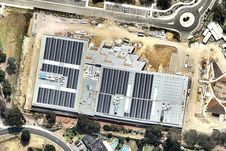Mullum Mullum Stadium 450kw Solar Installation