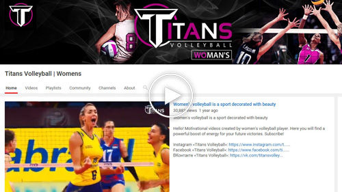 Titans Women's Volleyball YouTube