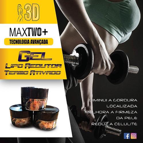 MAXTWO + 3D - Gel Lipo Redutor