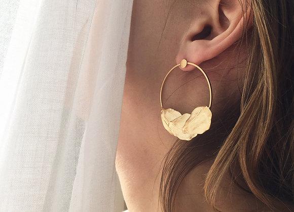 Boucles d'oreilles ONAGRE ANNEAUX