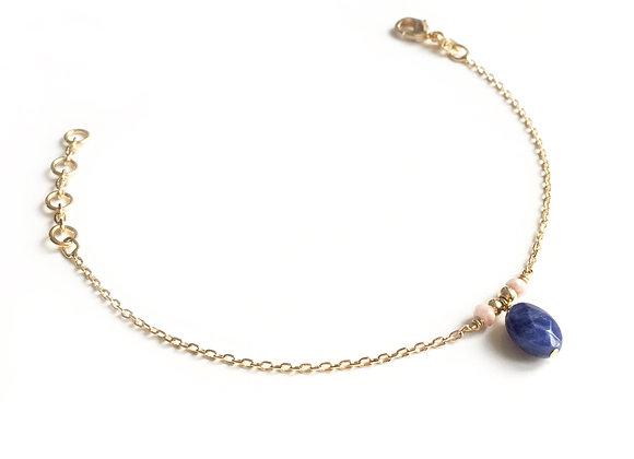 Bracelet RAISIN D'OURS BLEU