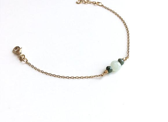 Bracelet CERATONIA vert