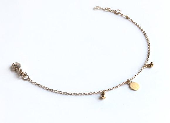 Bracelet CÉRATONIA doré