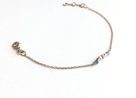 Bracelet CERATONIA mauve