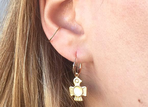 Boucles d'oreilles BASIC ANNEAU