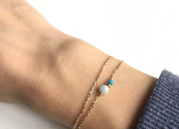 Bracelet  double ANIS DOUX TRIO