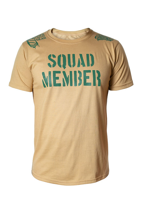 Serious Fighter Squad Member Tee Sand