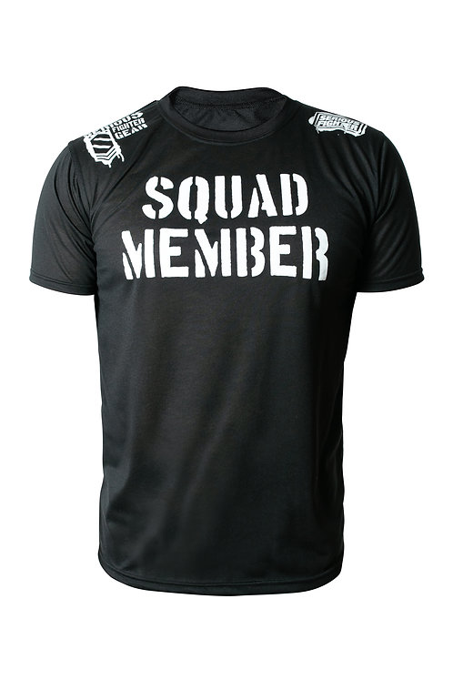 Serious Fighter Squad Member Tee Black