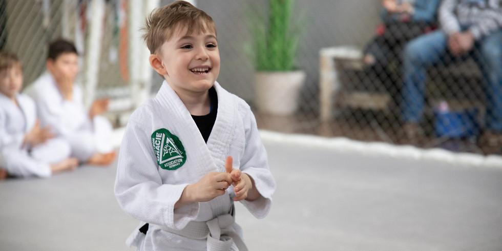 Kinder Training BJJ Kids bis 8 Jahre