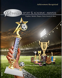 Sport and Academic Awards Catalog Cover.